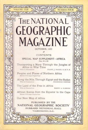 National Geographic October 1922-0