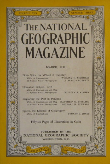 National Geographic March 1949-0