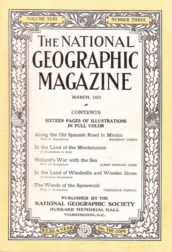 National Geographic March 1923-0