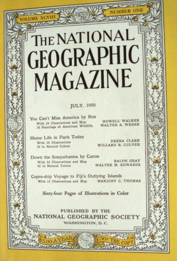 National Geographic July 1950-0