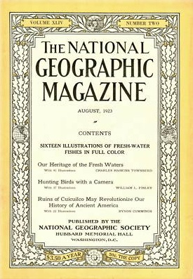 National Geographic August 1923-0