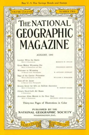 National Geographic August 1945-0