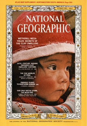 National Geographic February 1964-0
