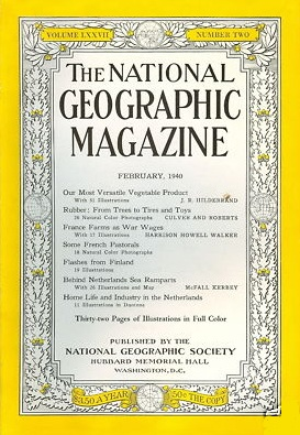National Geographic February 1940-0