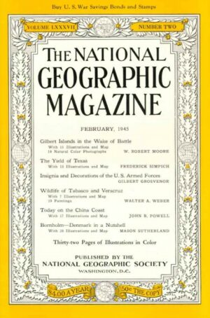 National Geographic February 1945-0