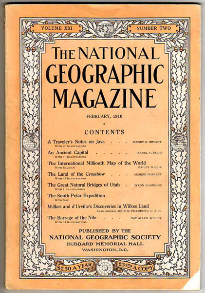 National Geographic February 1910-0