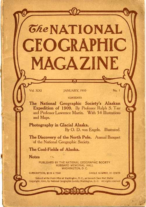 National Geographic January 1910-0