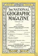 National Geographic February 1923-0