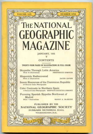 National Geographic January 1931-0