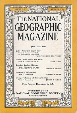 National Geographic January 1947-0
