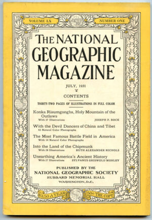 National Geographic July 1931-0