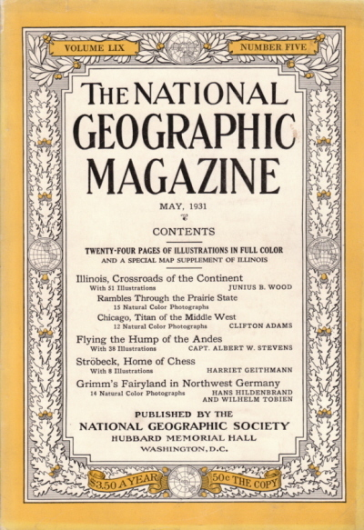 National Geographic May 1931-0