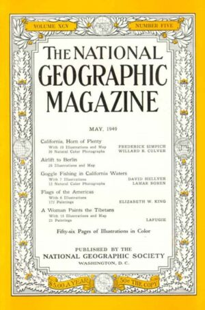 National Geographic May 1949-0