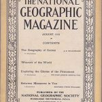 National Geographic August 1919-0