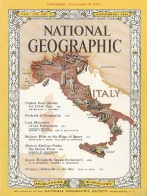 National Geographic November 1961-0