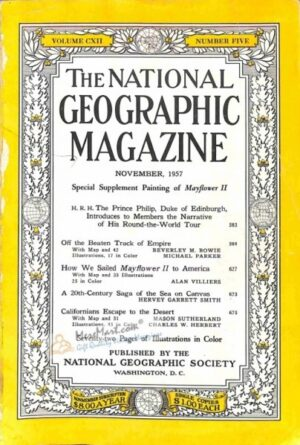 National Geographic November 1957-0
