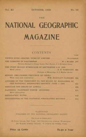 National Geographic October 1900-0