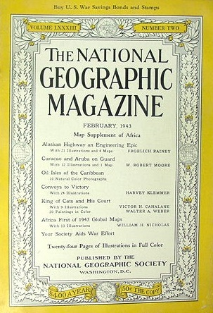 National Geographic February 1943-0