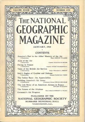National Geographic January 1918-0