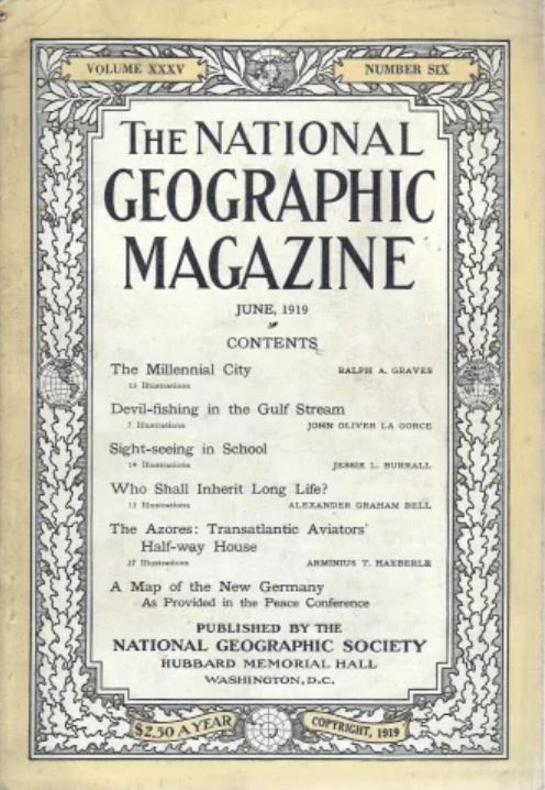 National Geographic June 1919-0