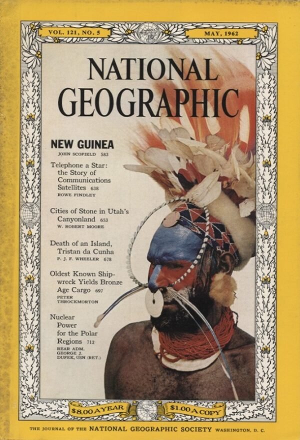 National Geographic May 1962-0