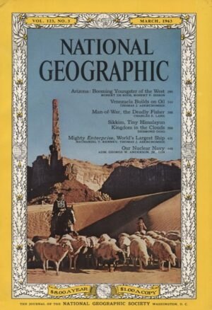 National Geographic March 1963-0
