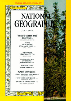 National Geographic July 1964-0