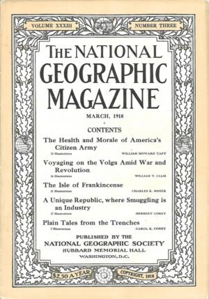 National Geographic March 1918-0