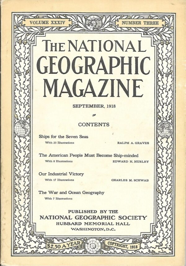 National Geographic September 1918-0
