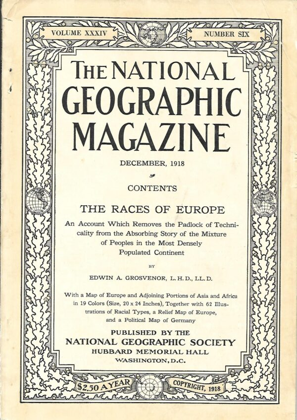 National Geographic December 1918-0