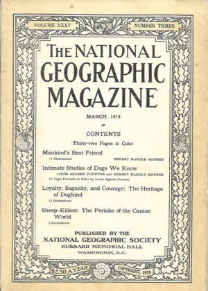 National Geographic March 1919-0