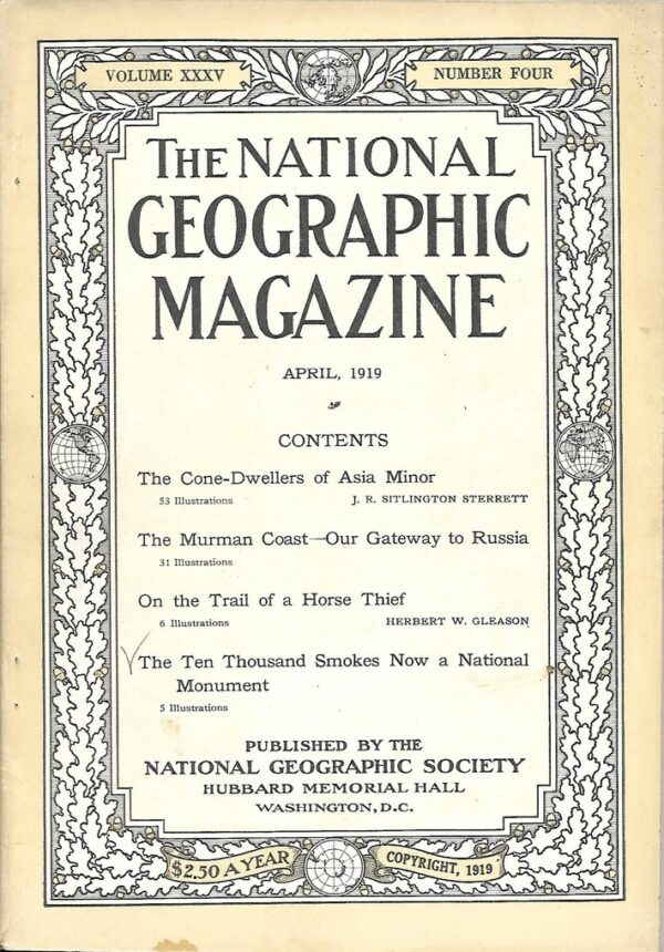 National Geographic April 1919-0