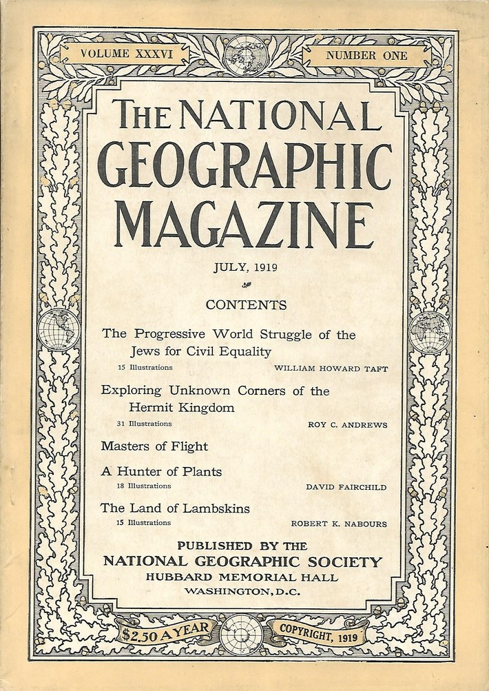National Geographic July 1919-0