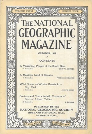 National Geographic October 1919-0