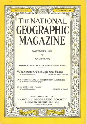 National Geographic November 1931-0