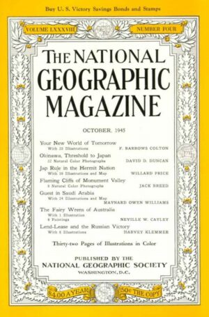National Geographic October 1945-0