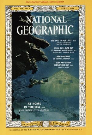 National Geographic April 1964-0