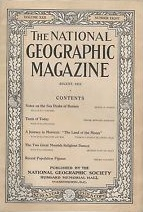 National Geographic August 1911-0