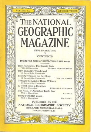 National Geographic September 1931-0