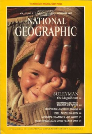National Geographic November 1987-0