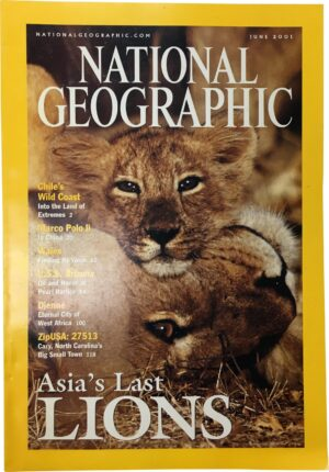 National Geographic June 2001-0