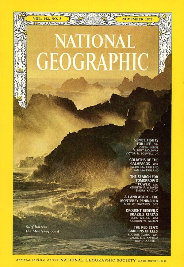 National Geographic November 1972-0