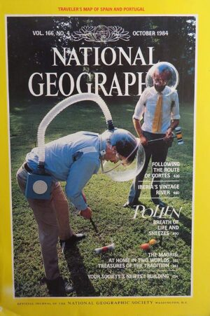 National Geographic October 1984-0
