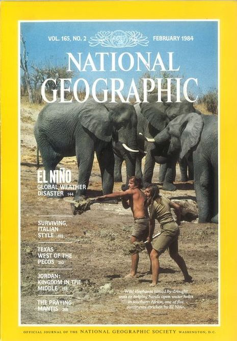 National Geographic February 1984-0