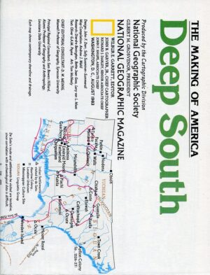 National Geographic Map August 1983-0