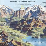 National Geographic Map April 1985-0