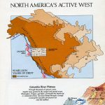 National Geographic Map August 1985-0