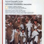 National Geographic Map March 1982-0