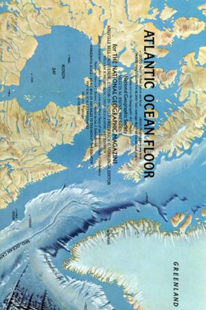 National Geographic Map June 1968-0