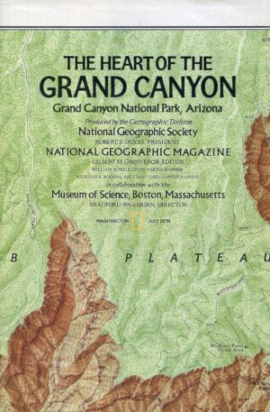National Geographic Map July 1978-0